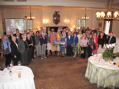 May 2, 2014. Another Get Together for our good friends Gunilla and Lasse Eriksson...at The Country Club in Pepper Pike.