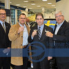 Carlos Dague, Montrose Sales Manager, Brad Wolkov, Montrose Manager, Tom Caza, Volvo Cars of North America Market Manager, Ingemar Svala, SCS of Cleveland President and (retired) 35 years Volvo of Sweden and Volvo Cars of North America employee.