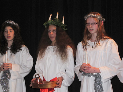 Swedish Cultural Society's Christmas & Lucia Party Dec. 16, 2012