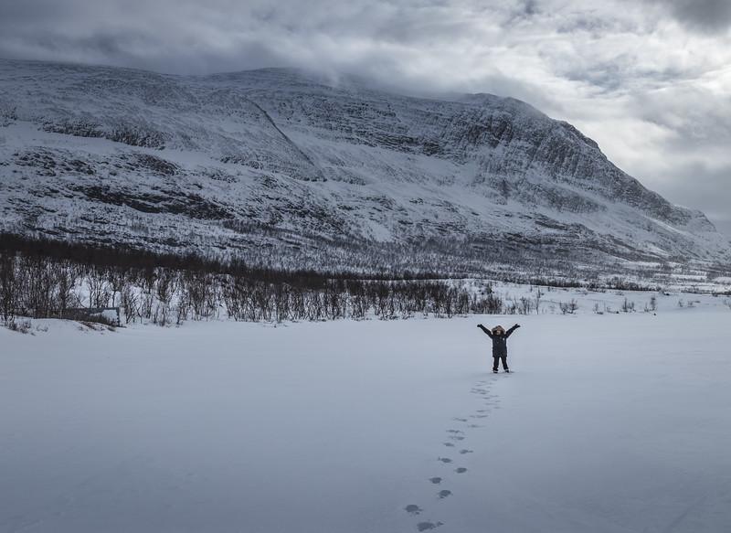 Happy Little Eskimo - Abisko, Sweden