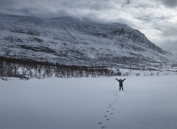 Happy Little Eskimo - Abisko, Sweden