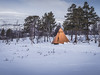 Teepee in the Lapland  - Abisko, Sweden
