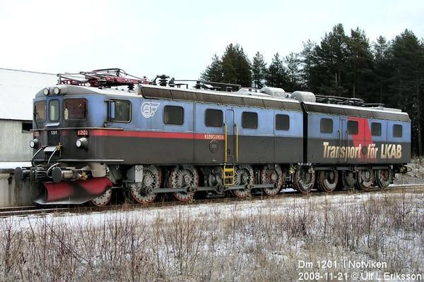 """MTAB Dm 1201 """"Kunigunda"""" in Notviken 2008-11-21"""