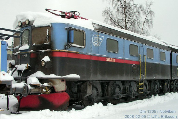 """MTAB Dm 1205 """"Sigrid"""" in Notviken 2008-02-05"""