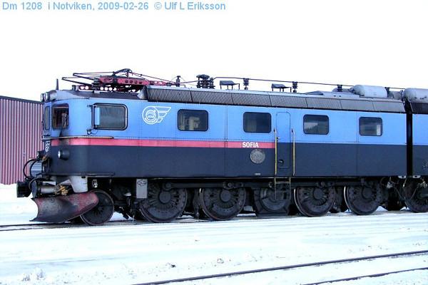 """MTAB Dm 1208 """"Sofia"""" in Notviken 2009-02-26"""