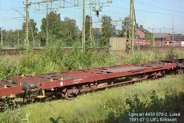 74 4435 079-2 Lgns 881 in Luleå 1991-07