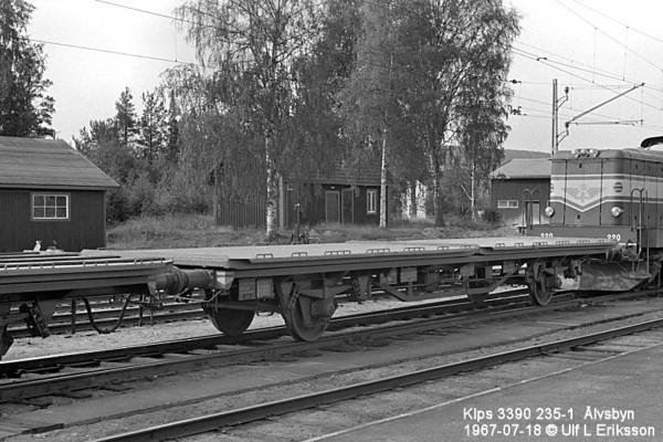 74 3390 235-1 .Klps in Älvsbyn 1967-07-18