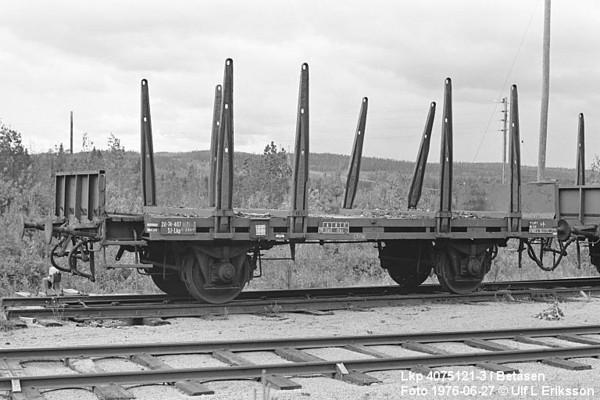 74 4075 121-3 .Lkp in Betåsen 1976-06-27