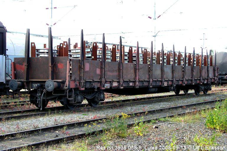 74 3936 058-5 Res 751 in Luleå 2008-09-13