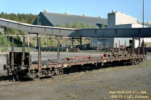 74 3936 070-0 Res 751 in Svartön, Luleå 1990-05