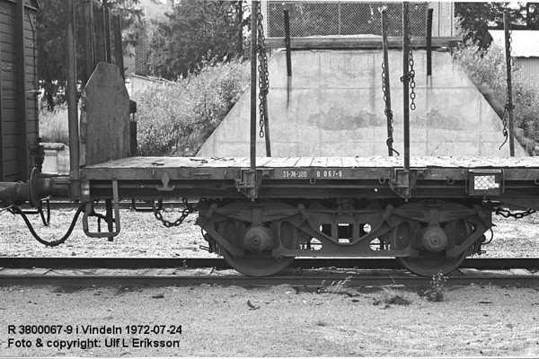 74 3800 067-9 .R  in Vindeln 1972-07-24