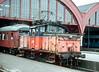 SJ Ue 703 shuffles empty stock around at Malmo on 7 November 1993