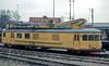 BV overhead maintenance vehicle LMV 850 984 is at Hasselholm on 7 November 1993