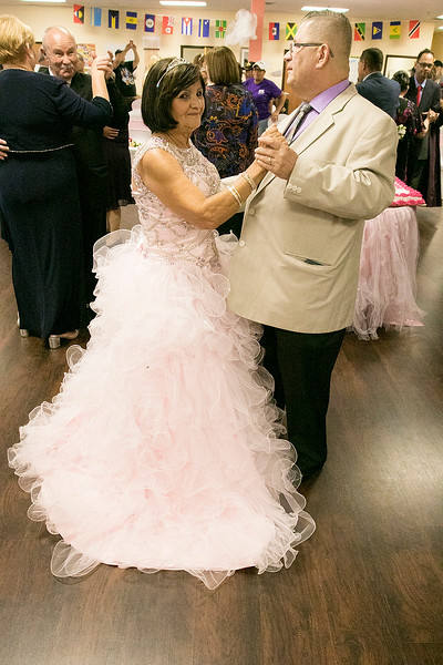 Active Life Adult Care Center in Fitchburg held a Sweet 15 Party on Friday morning for there members. Doing some dancing at the event is Carmen Hernandez Ramos with her brother Wellie Torres Hernandez. SENTINEL & ENTERPRISE/JOHN LOVE