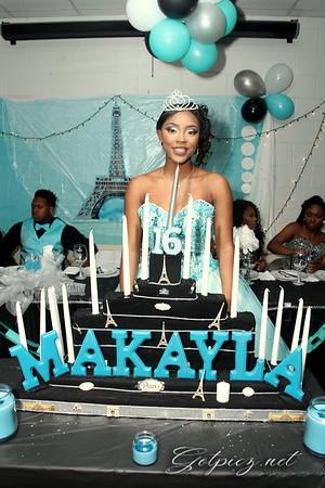Ma'Kayla's Sweet 16