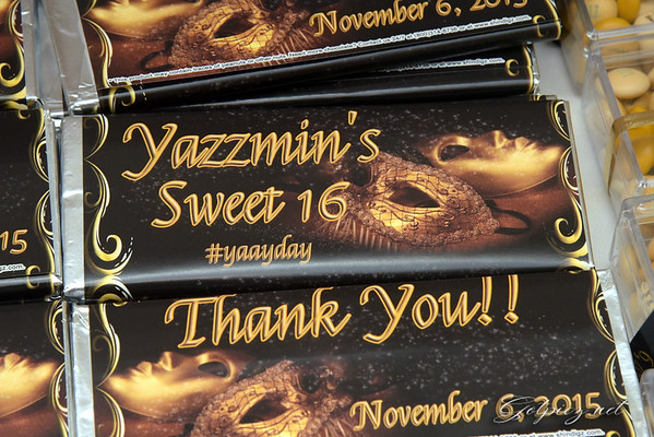 """Yazzy""""s Sweet 16 Oct 6,2015"""