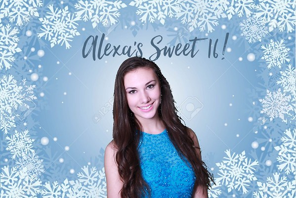 Alexa's Winter Wonderland Sweet 16