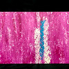 Pink Tide, 19 x 31, Acrylic paint on Canvas, Unframed (Treads Series)