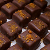 Sweet Lydia's has many treats for you to chose from for Valentine's Day. Some of their lavender Caramels with orange brittle on top.  SUN/JOHN LOVE