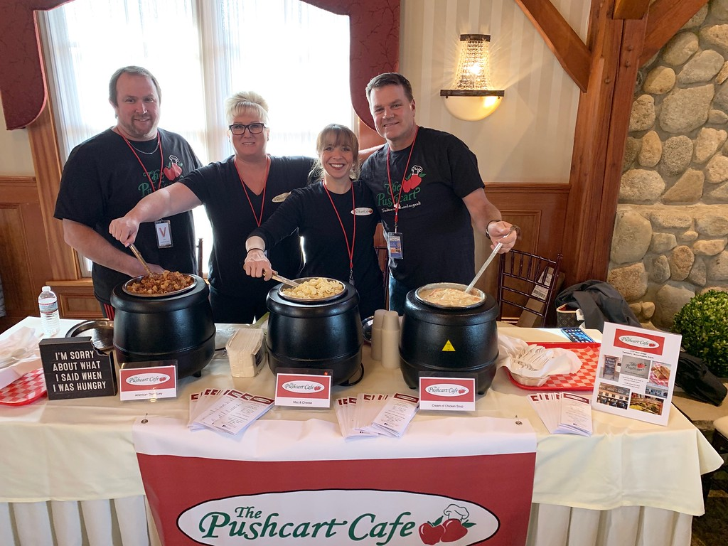 . Representing The Pushcart Cafe