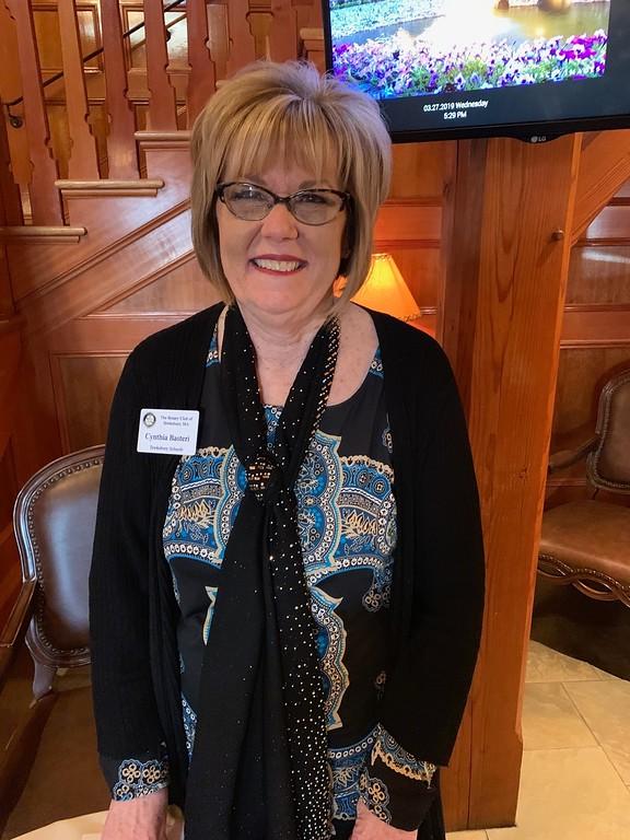 . Tewksbury Rotary�s Cynthia Basteri of Lowell