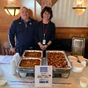 Representing French's Catering are owner Dave French of Dracut and Terri Woods of Wilmington