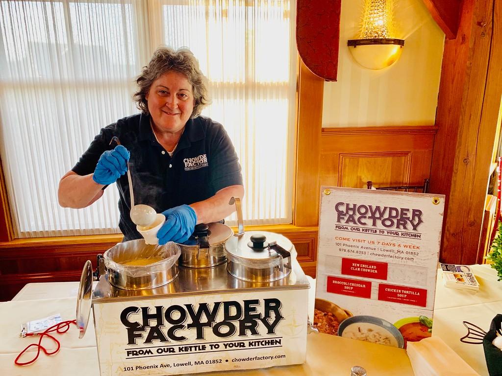 . Boston Chowder Factory, winner for Best Soup