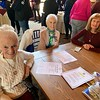 From left, Maria DiCiaccio, Evelyn Weed and Kathy Svenson, all of Tewksbury