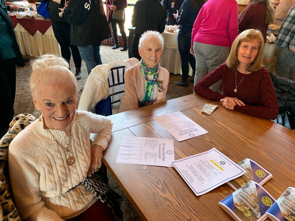 . From left, Maria DiCiaccio, Evelyn Weed and Kathy Svenson, all of Tewksbury