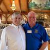 Tewksbury Rotary's Jim Carter, sergeant-at-arms, and Joel Deputat, both of Tewksbury