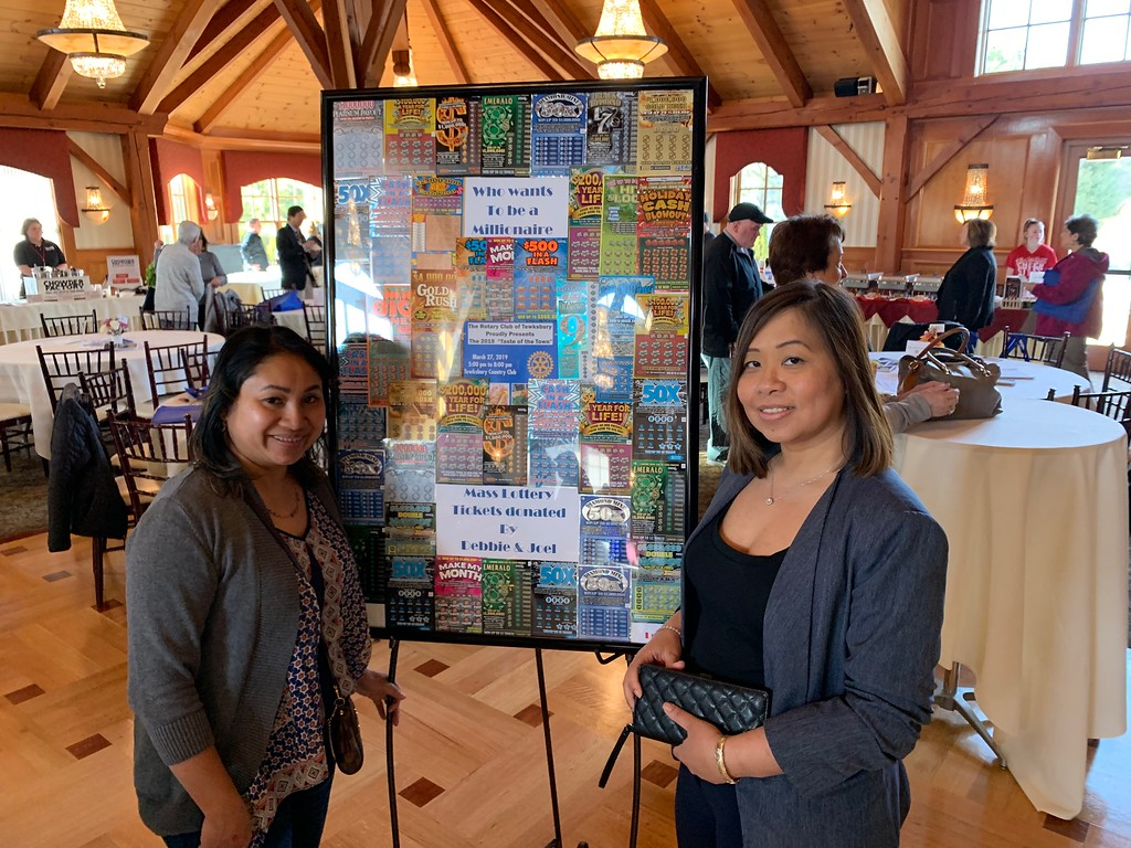 . Who wants to be a millionaire? Lynda Yem of Lowell and Serey Chea of Dracut, that�s who.