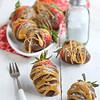 Caramel Chocolate Covered Strawberries