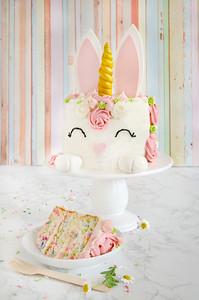 Unicorn Bunny Cake