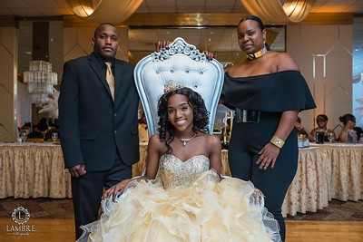 Brittany Sweet 16 party