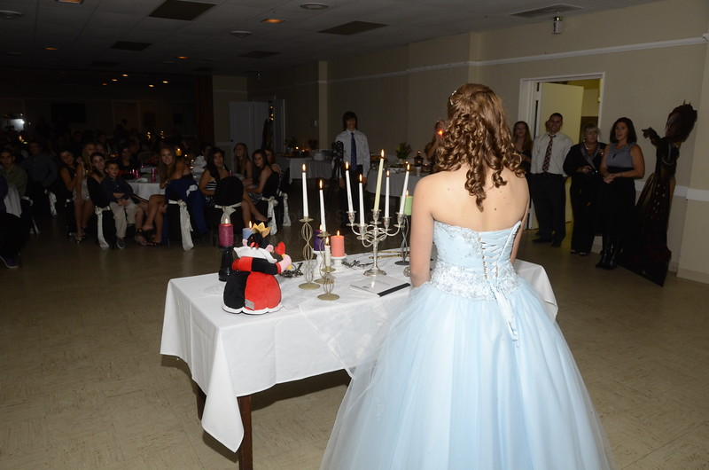 Harley's Sweet 16  Candle Ceremony
