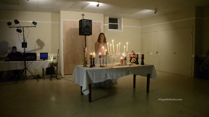 Harley's Sweet 16 Candle Ceremony Video Part 1 of 4