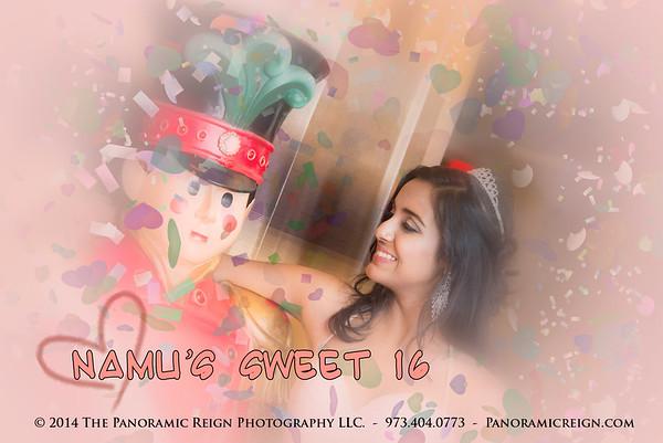 Namu's Sweet 16