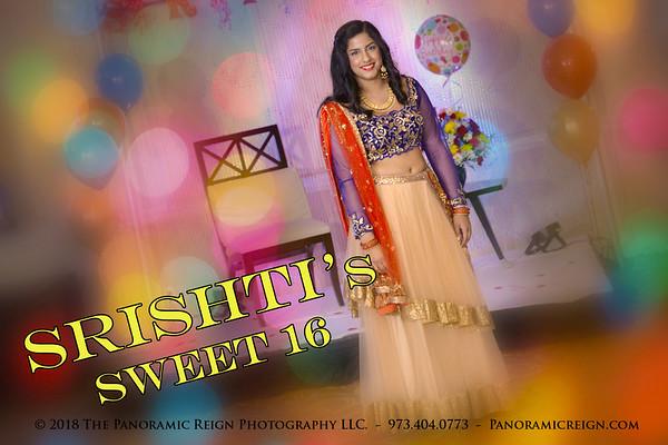 Srishti's Sweet 16