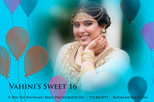 Vahini's Sweet 16