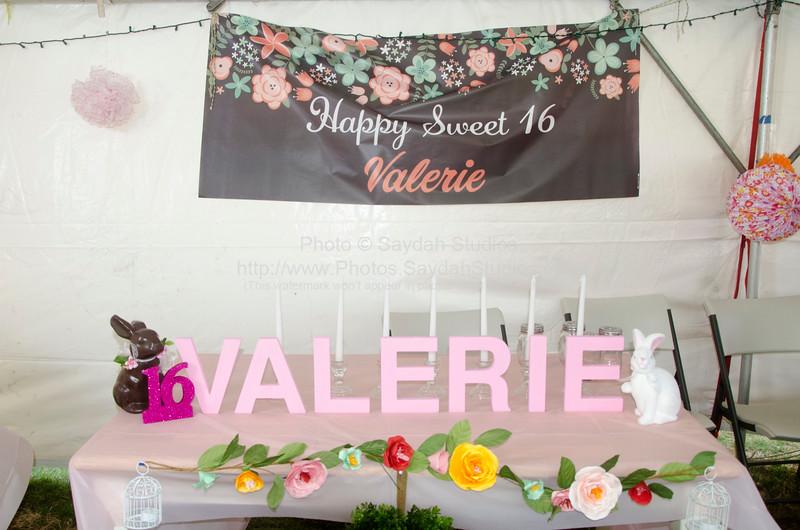 Valerie's Sweet 16