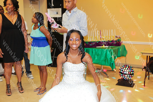 Melsheree's Sweet 16 party