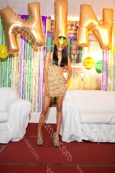 Nina's Mardi Gra Celebration/Sweet 16