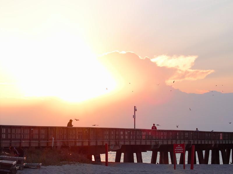 the Sun Breaks Free