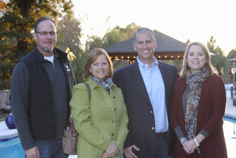 Ken & JoAnne Bohn & Stephen & Kelly Beringer