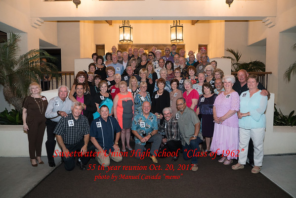 Sweetwater High Class of 1962 55th Reunion