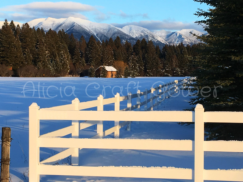 Swan Mountain Range