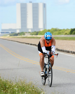 Riding Toward the Shuttle Launch Pad