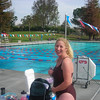 """Melissa took her baby boy """"on the way"""", for a nice little 2500 yard swim with the Conejo Valley Masters... <br /> 1-Hour Swim at Simi Park Pool!<br /> Way to go Coach!"""