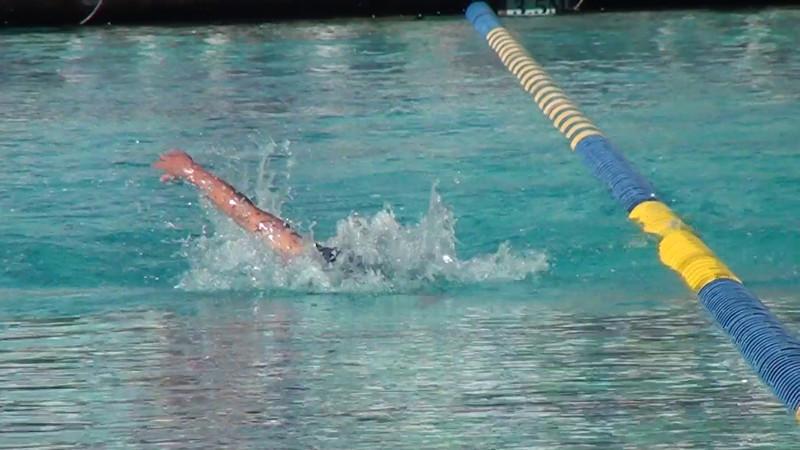 Janet Evans Straight Swim and Turn