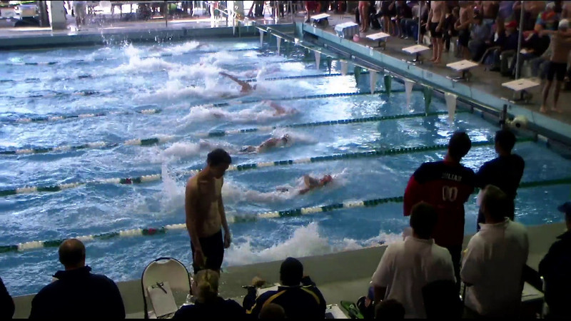 Men's 100yd Freestyle Heat 16 - 2012 Southern California Swimming Junior Olympics
